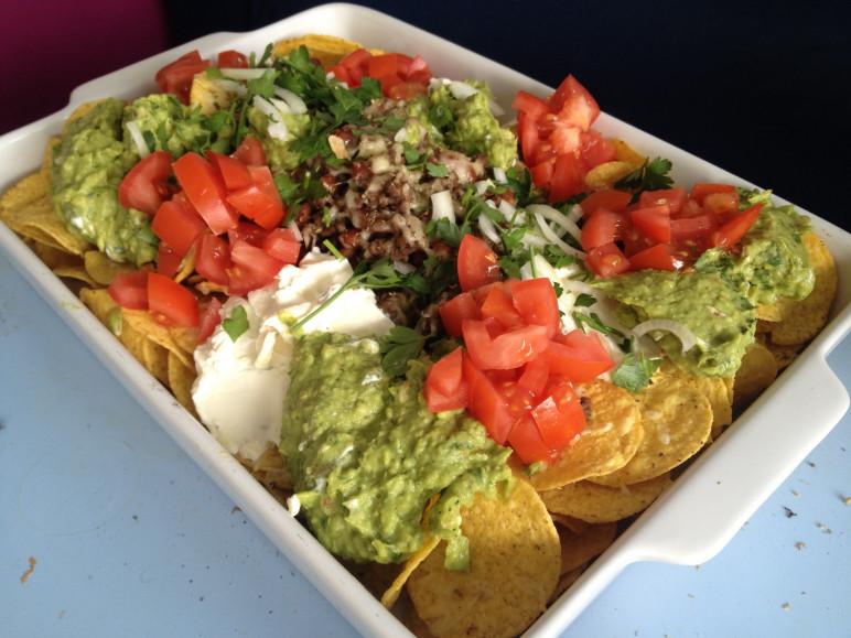 tortilla chips gehakt recept